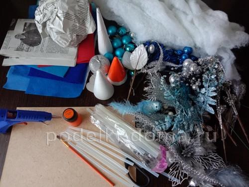 Композиции со снеговиками