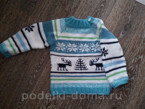 Вязание собачкам свитера на спицах 8