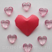 Сердечки из бумаги: мастер-классы, фото и видео