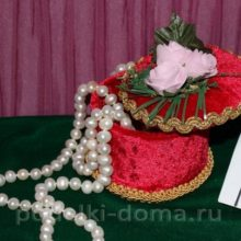 Шкатулка — подарок своими руками