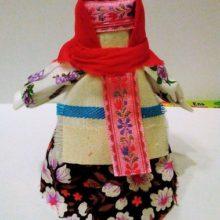 Народные куклы: на бересте и кукла-скрутка