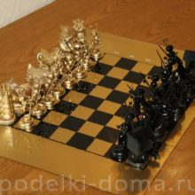 Шахматы — подарок к 23 февраля