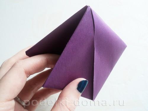 бумажная подставка под яйцо заяц 05
