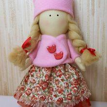 Текстильная интерьерная кукла. Мастер-класс