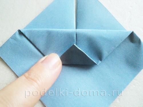 подставка для яйца кролик из бумаги 04