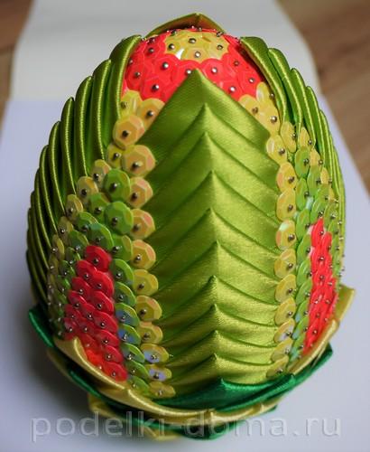 яйцо из лент артишок 23