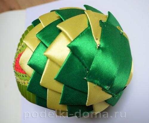 яйцо из лент артишок 24