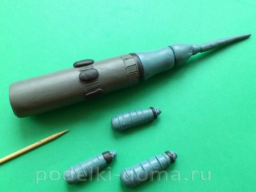 ракета из пластилина05