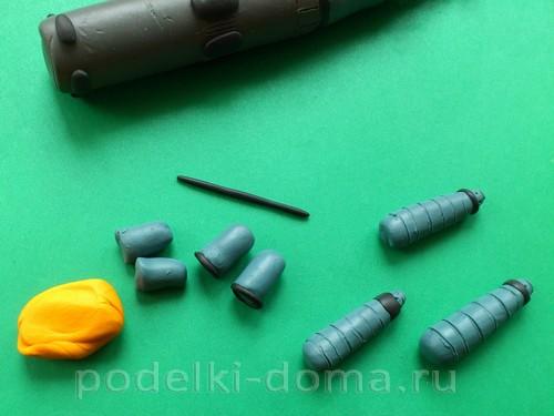 ракета из пластилина06