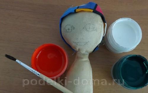 рисуем лицо кукле04