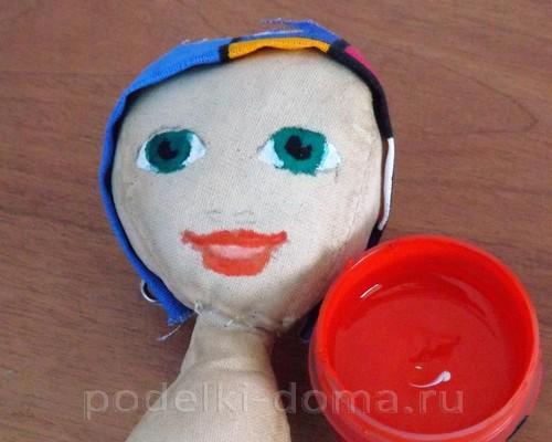 рисуем лицо кукле05