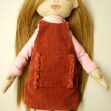 Шьем одежду для куклы: сарафан