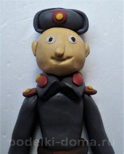 солдат из пластилина14