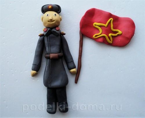 солдат из пластилина15