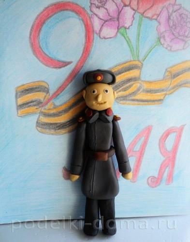 солдат из пластилина16