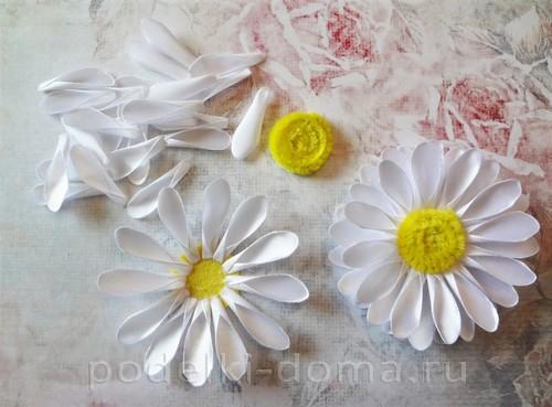 цветы из атласных лент 02