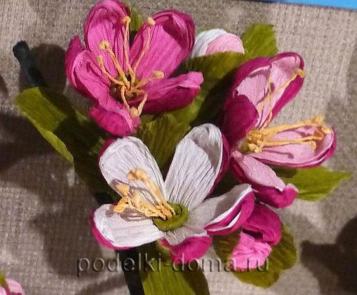 цветы из гофробумаги013