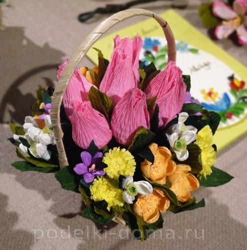 цветы из гофробумаги03