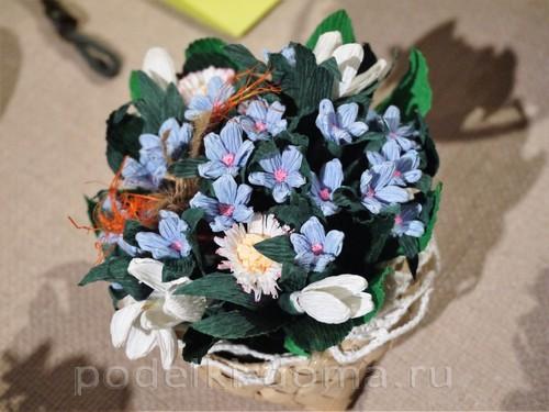 цветы из гофробумаги06