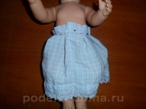 платье куклы беби борн04