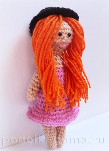 куколка амигуруми крючком11