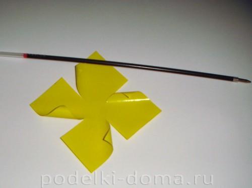 бумажные цветы нарциссы03