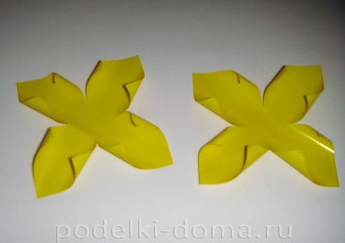 бумажные цветы нарциссы04