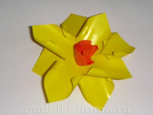бумажные цветы нарциссы06