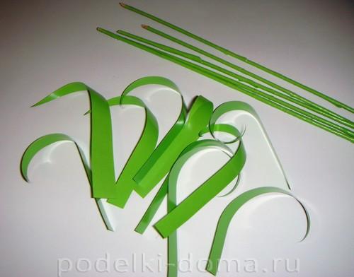 бумажные цветы нарциссы10