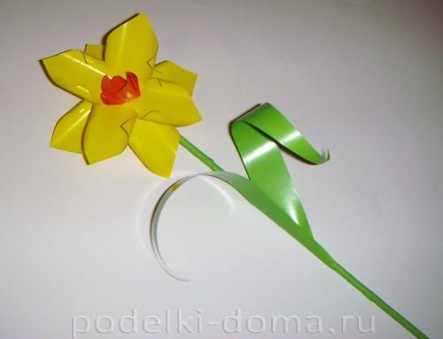 бумажные цветы нарциссы12
