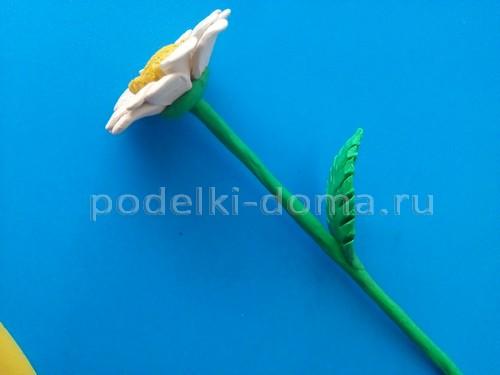 Цветы из пластилина поэтапно