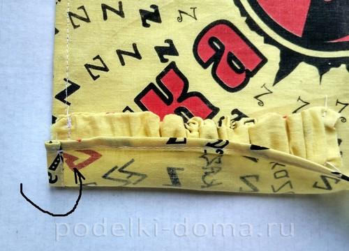 шитье косынки на резинке11