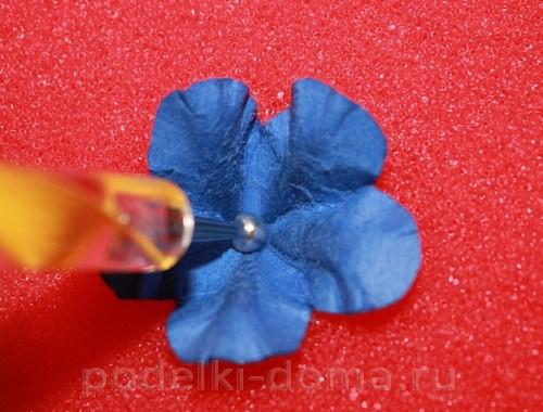 цветочки из акварельной бумаги 06