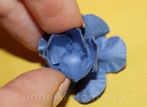 цветочки из акварельной бумаги 09