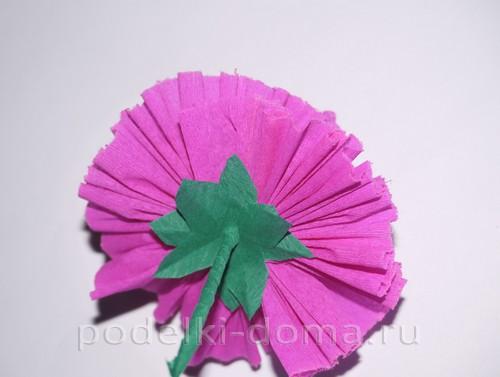 цветы из гофробумаги17