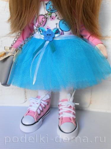 юбка для куклы пачка12
