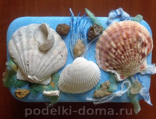 шкатулка морская 06