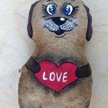 Кофеюшка (чердачная игрушка) «Собачка»