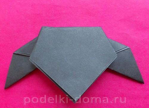 летучая мышь оригами 06