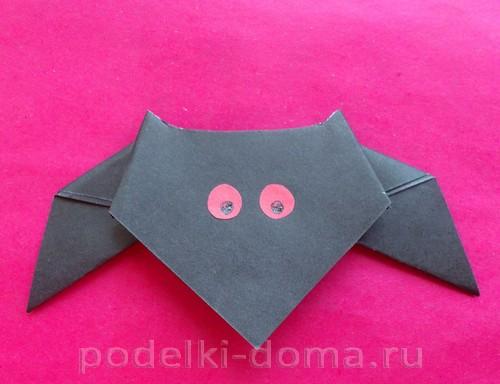 летучая мышь оригами 08