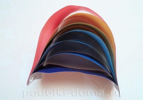 поделка радуга из бумаги 08