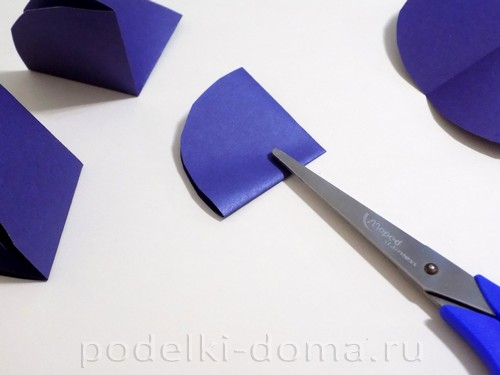 поделка зонтик из бумаги 03