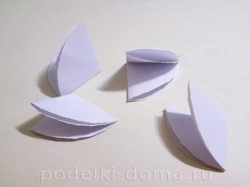 поделка зонтик из бумаги 04