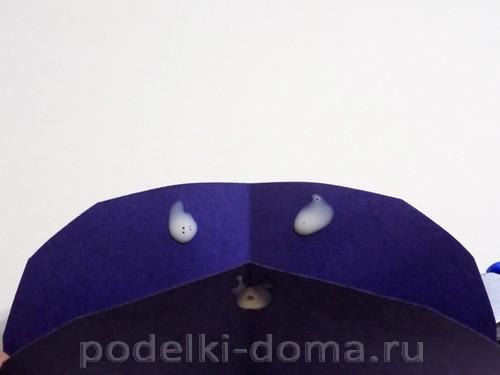 поделка зонтик из бумаги 05