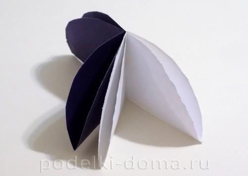 поделка зонтик из бумаги 06