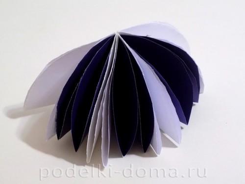 поделка зонтик из бумаги 07