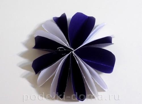 поделка зонтик из бумаги 08
