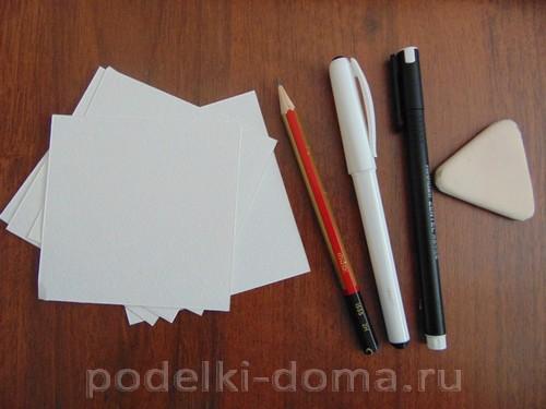 рисуем лист 01