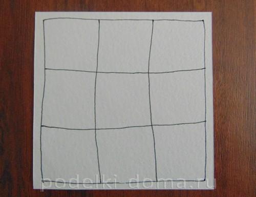 рисуем лист 03