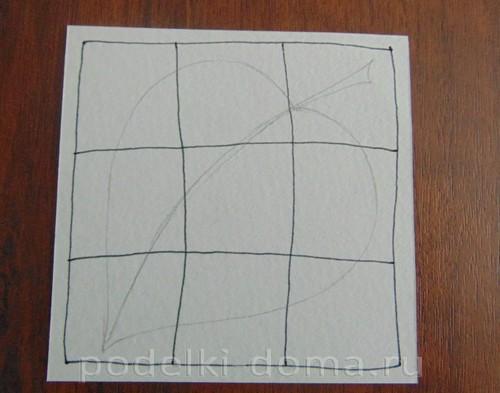 рисуем лист 04